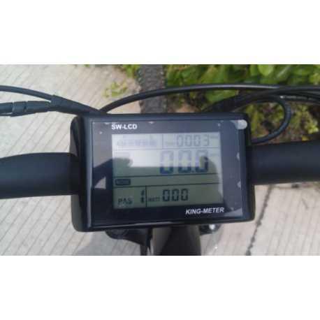 Wskaźnik LCD na kierownicę z oddzielnym regulatore