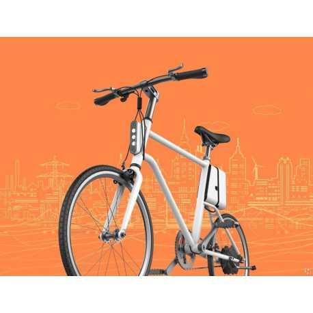 """E-bikeapp-mw 20"""" z aplikacją na smartfony"""