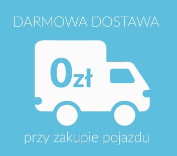 Darmowa dostawa przy zakupie pojazdu